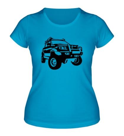 Женская футболка УАЗ