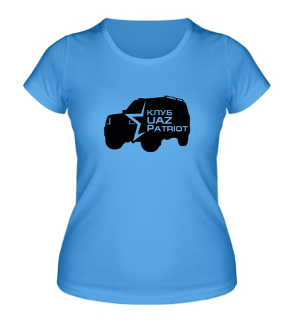 Женская футболка Клуб УАЗ