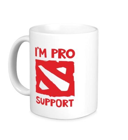 Керамическая кружка Im pro support