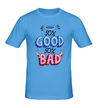 Мужская футболка Good vs Bad