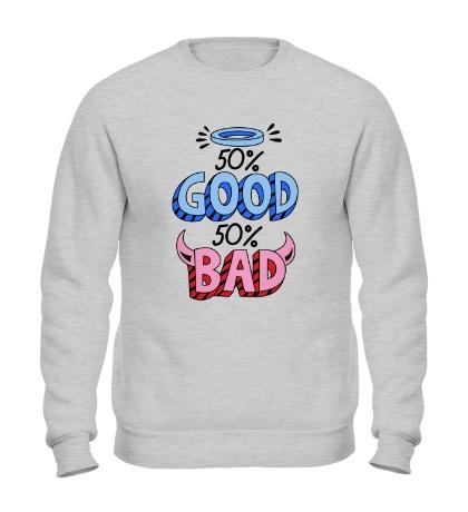 Свитшот Good vs Bad