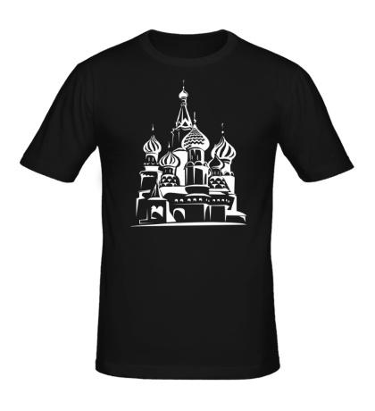 Мужская футболка Храм Василия Блаженного