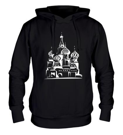 Толстовка с капюшоном Храм Василия Блаженного