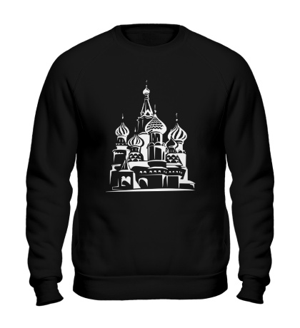 Свитшот Храм Василия Блаженного