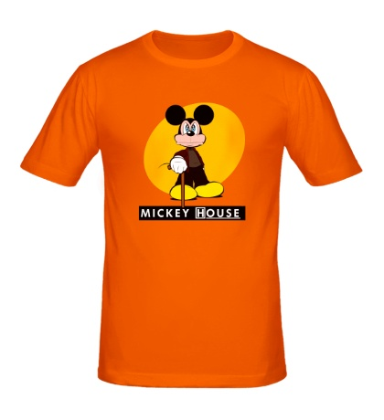 Мужская футболка Mickey House