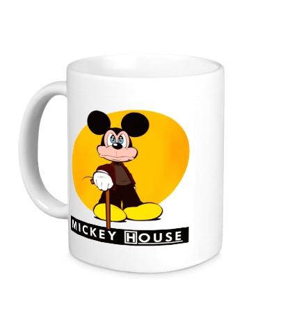 Керамическая кружка Mickey House