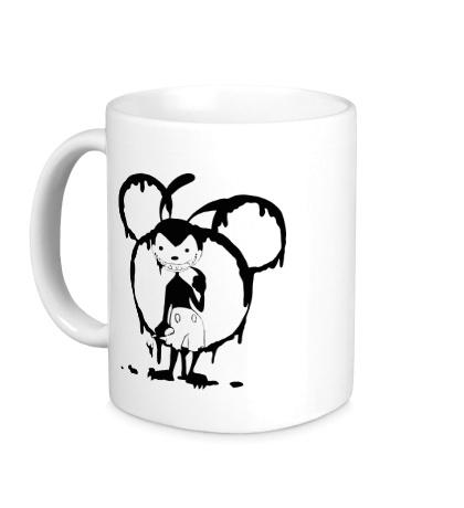 Керамическая кружка Bad Mickey
