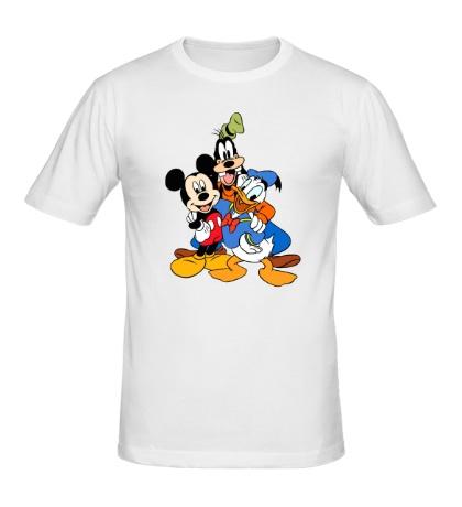 Мужская футболка Диснеевские друзья