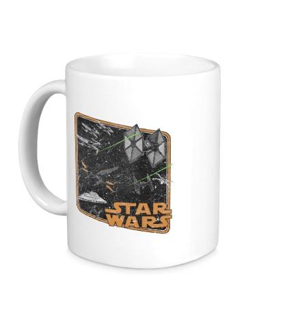 Керамическая кружка Force Awakened Ships