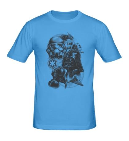 Мужская футболка «Империя Star Wars»