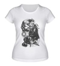 Женская футболка Империя Star Wars