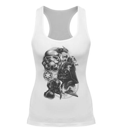 Женская борцовка Империя Star Wars