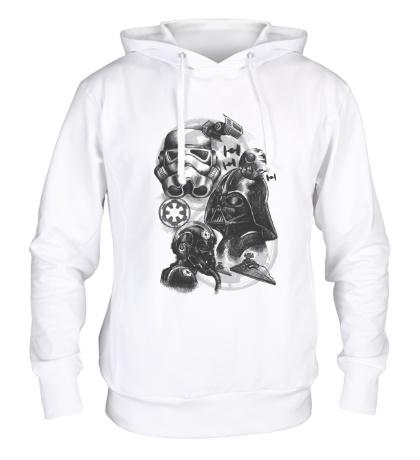 Толстовка с капюшоном Империя Star Wars