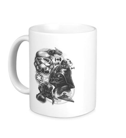 Керамическая кружка Империя Star Wars
