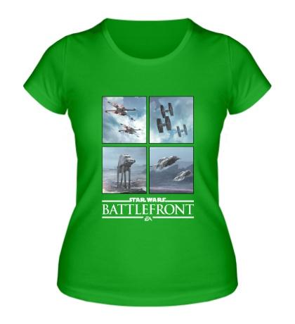 Женская футболка Star Wars: Battlefront