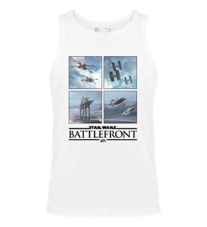 Мужская майка Star Wars: Battlefront