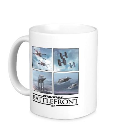 Керамическая кружка Star Wars: Battlefront