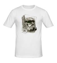 Мужская футболка Имперский штурмовик эскиз