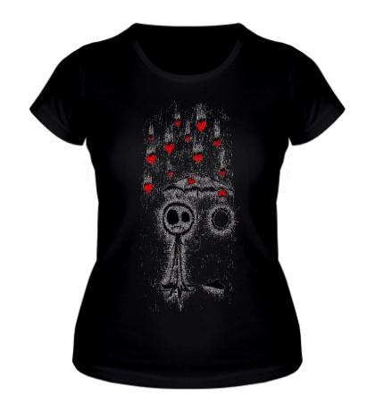 Женская футболка No Love