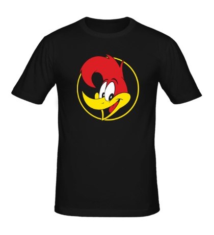 Мужская футболка Woody Woodpecker