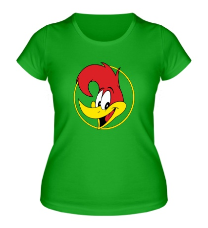 Женская футболка Woody Woodpecker