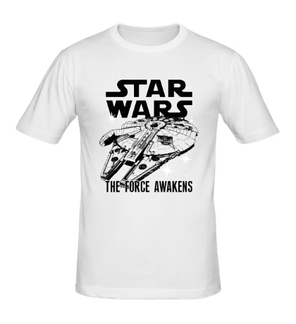 Мужская футболка The Millennium Falcon