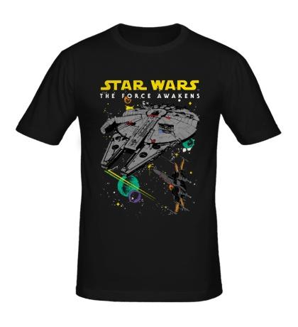 Мужская футболка Эскадрилья войн
