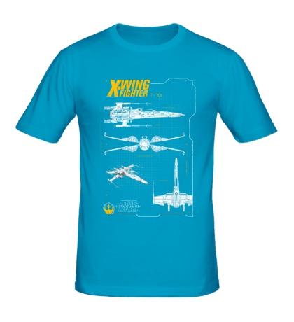 Мужская футболка X-Wing Fighter