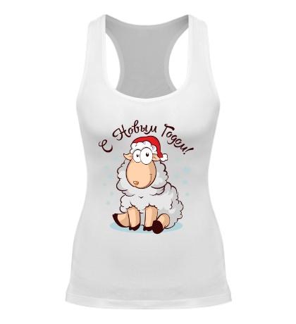 Женская борцовка Новогодняя овечка