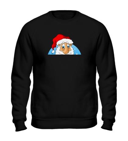 Свитшот Дед Мороз: с Новым годом