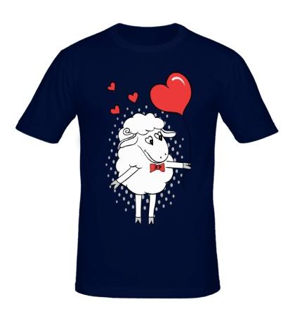 Мужская футболка Влюблённый овен