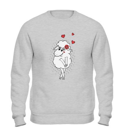 Свитшот Влюбленная овечка
