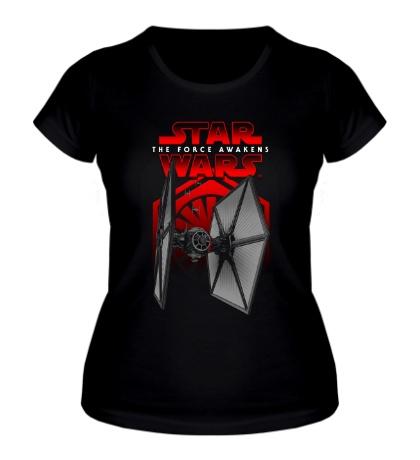 Женская футболка Black Squadron Unleashed