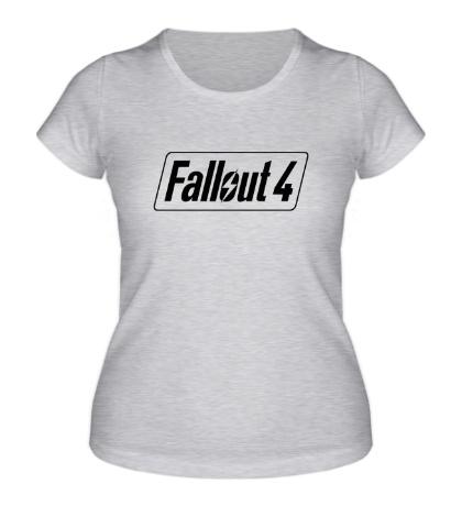 Женская футболка «Fallout 4»