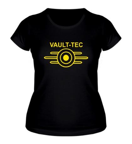 Женская футболка Vault-Tec