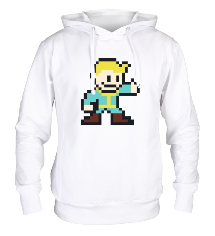 Толстовка с капюшоном Pixel Vault Boy