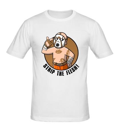 Мужская футболка Strip the Flesh