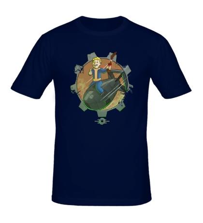 Мужская футболка Vault Boy Atom Bomb