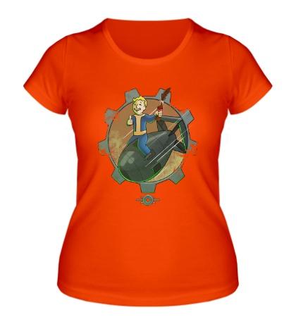 Женская футболка Vault Boy Atom Bomb
