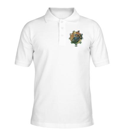 Рубашка поло Vault Boy Atom Bomb