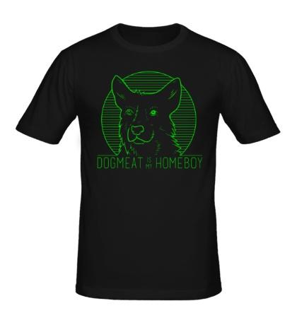 Мужская футболка Dogmeat is my Homeboy
