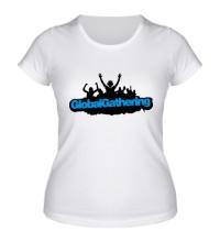 Женская футболка Global Gathering