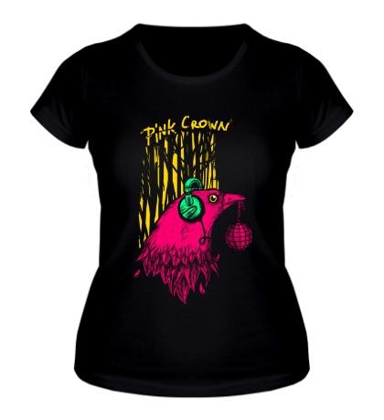 Женская футболка Музыкальная птица
