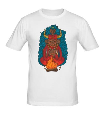 Мужская футболка Огненный шаман