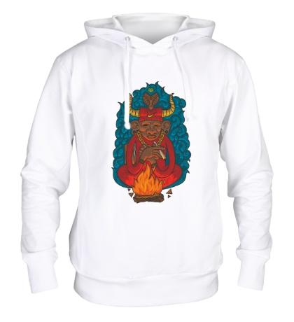 Толстовка с капюшоном Огненный шаман