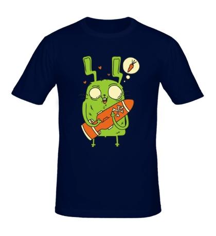 Мужская футболка Ядерная морковь