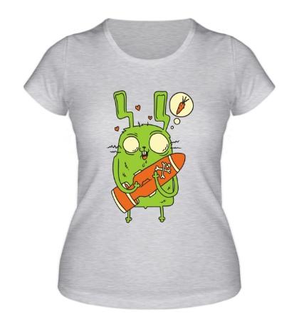 Женская футболка Ядерная морковь