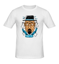 Мужская футболка Heisenberg: Meth King