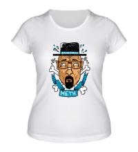 Женская футболка Heisenberg: Meth King