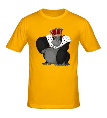 Мужская футболка Горилла король